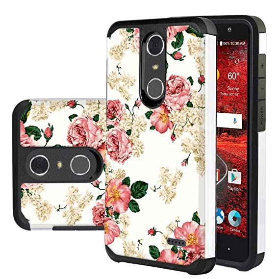 buy online 99df8 57f32 ZTE Blade Spark Case, ZTE Grand X 4 Case, Harryshell Shock Absorption Drop  Protection Hybrid Dual Layer Armor Defender Protective Case Cover for ZTE  ...