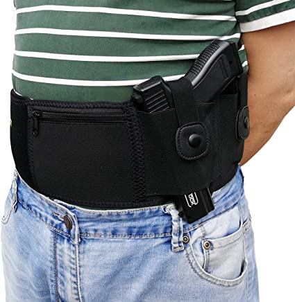 US Concealed Carry Holster Neoprene Waist Band Handgun Ultimate Belly Band Bag