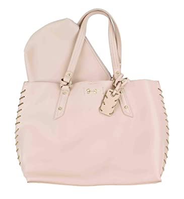 345a18382d Amazon.com  Jessica Simpson Women s Valerie Satchel Powder Blush One Size   Shoes