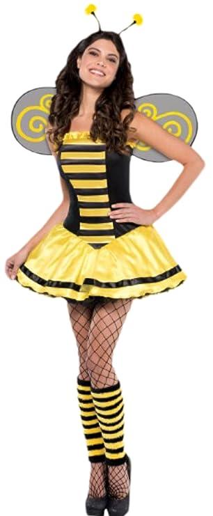 Karnevalsbud Damen Flotte Biene Kostum Erwachsene Karneval