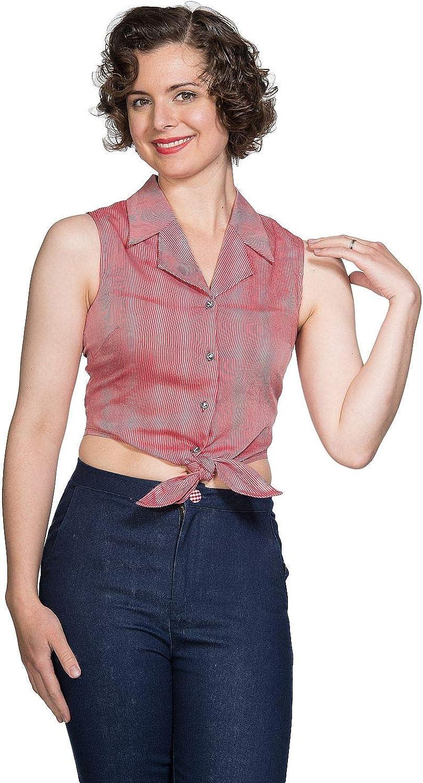 Dancing Days Textured Tie Camisa XXL: Amazon.es: Ropa y accesorios