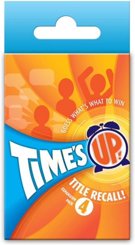 Times Up!: Title Recall Expansion #4: Amazon.es: Juguetes y juegos