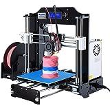 ALUNAR 3D Printer DIY Prusa I3 Kit Self-Assembly Desktop FDM 1.75mm PLA 3D Pen Filament Heated Bed