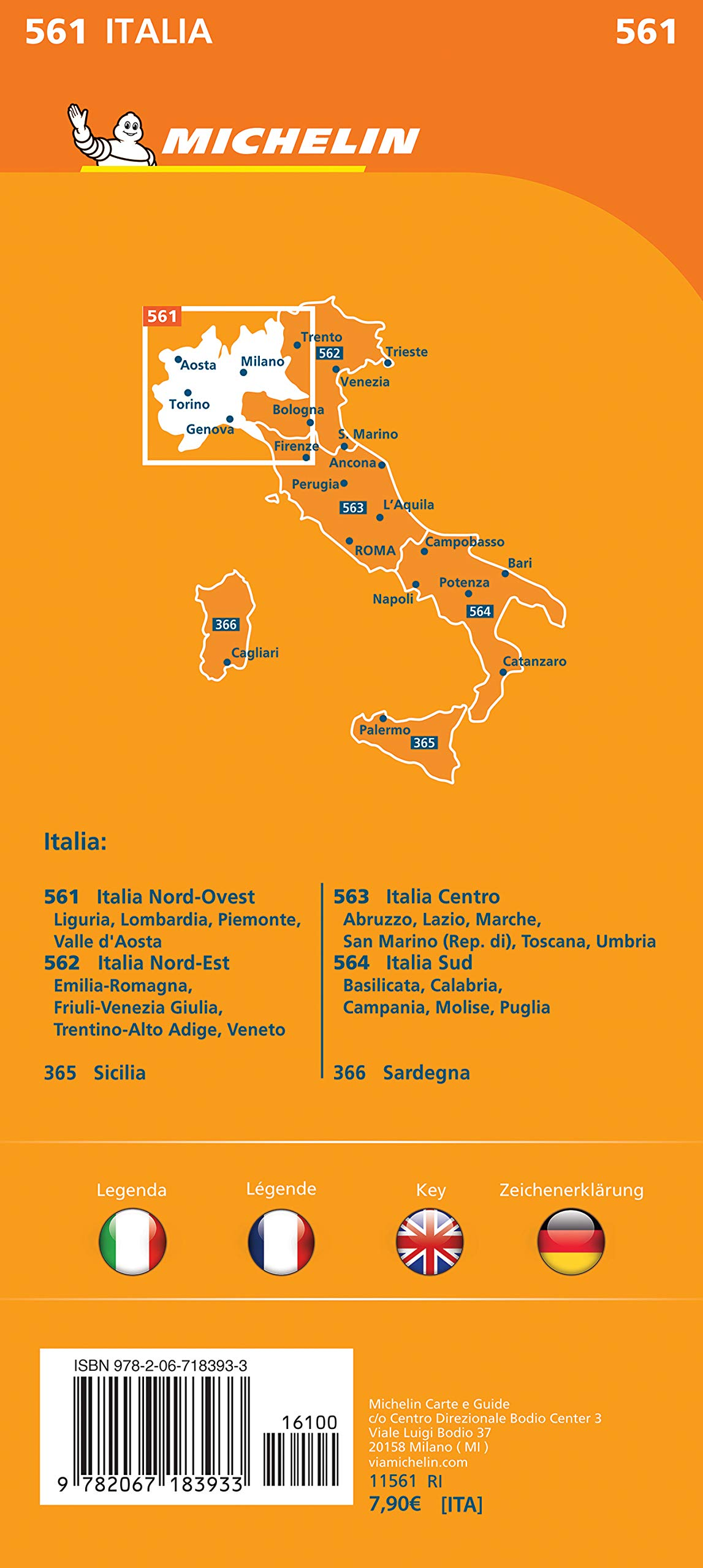 Cartina Stradale Sardegna Nord Ovest.Amazon It Carta Stradale Italia Nord Ovest Map Aa Vv Libri