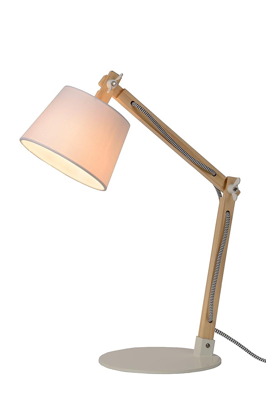 Lucide OLLY - Schreibtischlampe - Weiß