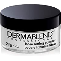 Dermablend Professional Loose Setting Powder - Sets Face & Body Makeup for Up to 16 Hours - Blends Smoothly, Absorbs…