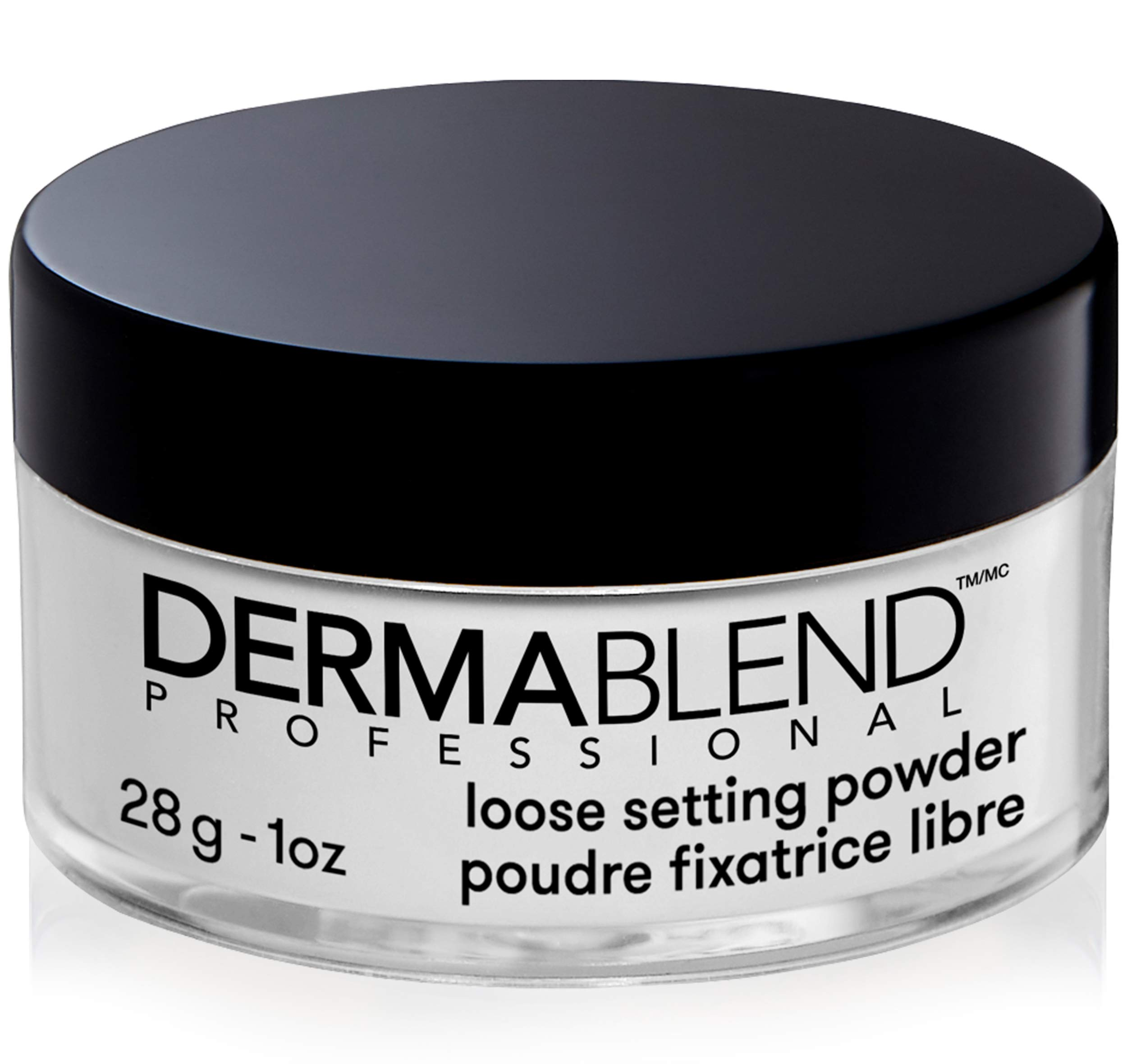 Dermablend Loose Setting Powder, Translucent Powder for Face Makeup, Mattifying Finish and Shine Control, 1oz by Dermablend