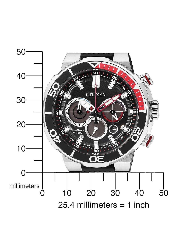 Amazon.com: Mens Citizen Eco-Drive Chronograph Divers Watch CA4250-03E: Citizen: Watches