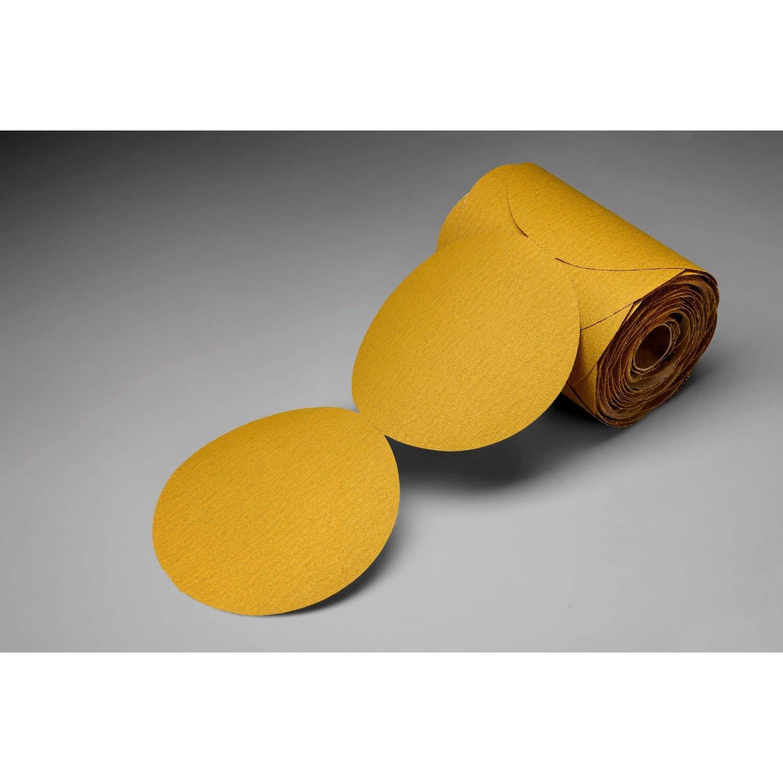 """B0002FSSRU Cubitron II Gold 5"""" Diameter, P80 Grit 3M 82471 Stikit Film 255L-5 x NH, 100 Disc Roll 71Zc9ppJVLL._SL1500_"""