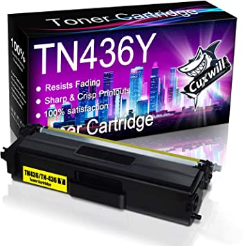 1 Pack Magenta TN433M Toner Cartridge Replacement for Brother HL-L8260CDW L8360CDW L8360CDWT L9310CDWT L9310CDWTT DCP-L8410CDW MFC-L8610CDW L8900CDW L9570CDWT L9570CDW Printers Toner Cartridge