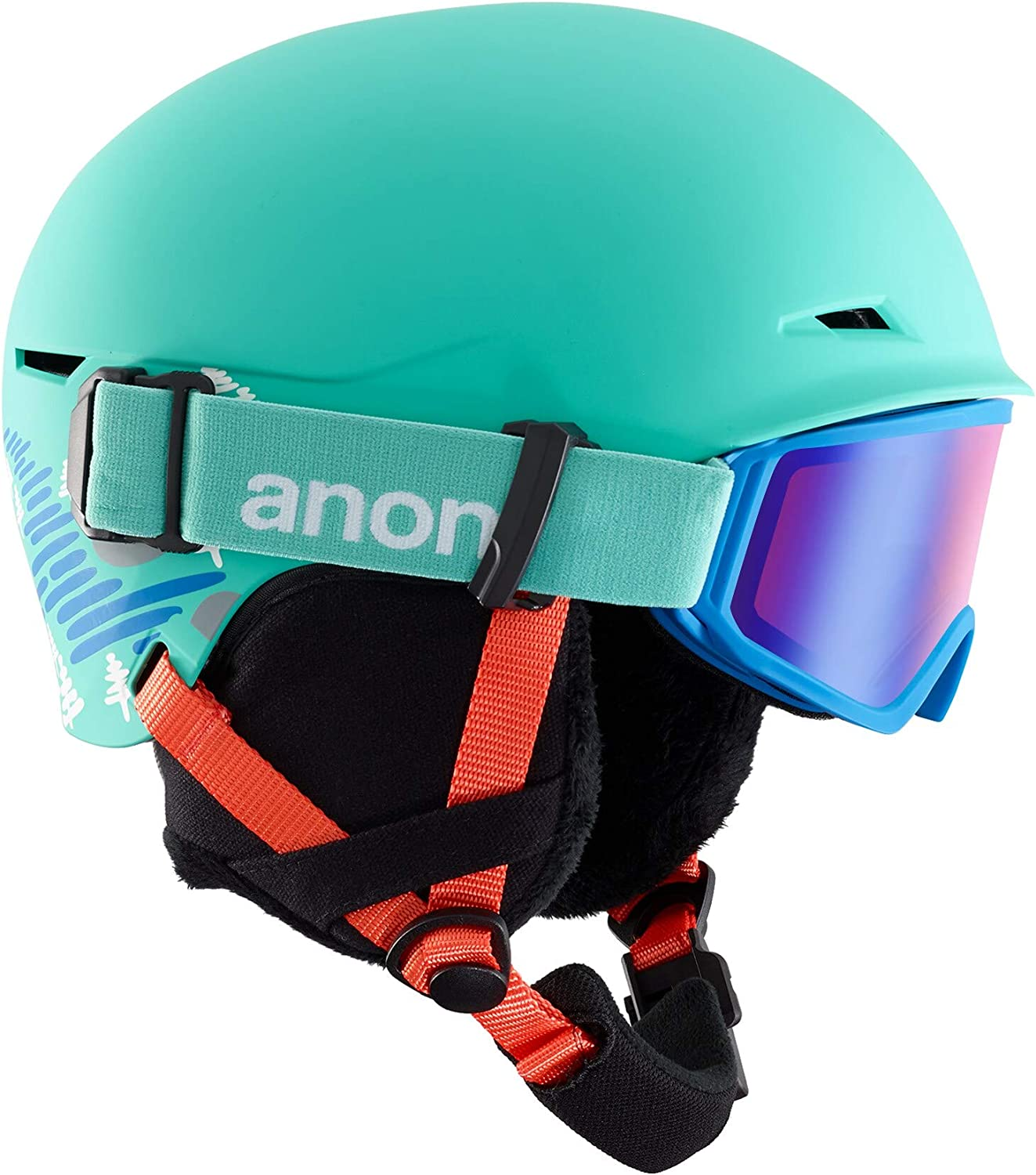 Anon Kids' Define Ski/Snowboard Helmet/Goggle Combo with BOA Fit System