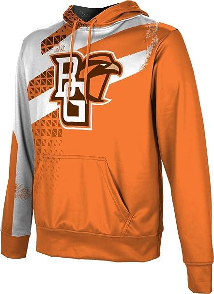 Bowling Green State University Mens Pullover Hoodie School Spirit Sweatshirt Brushed
