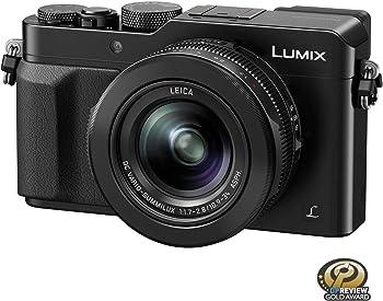 Panasonic 12.8MP 4K UHD Digital Camera with 24-75mm Leica lens (F1.7-2.8)