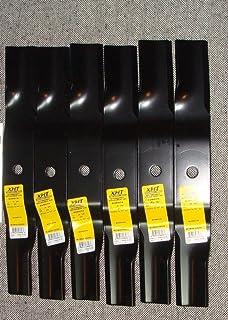 Amazon tew inc 392 047 blade gator g6 kubota 16 9 garden lawnmower blades k5617 34330 k561734330 6 rep heavy duty xht blades kubota 54 fandeluxe Gallery