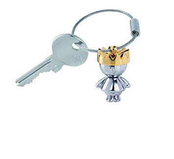 Troika LITTLE KING Llavero 4 centimeters Multicolor (Silber-Gold)
