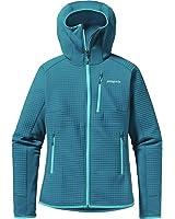 Patagonia Dual Aspect Hooded Softshell Jacket-Women's Underwater Blue