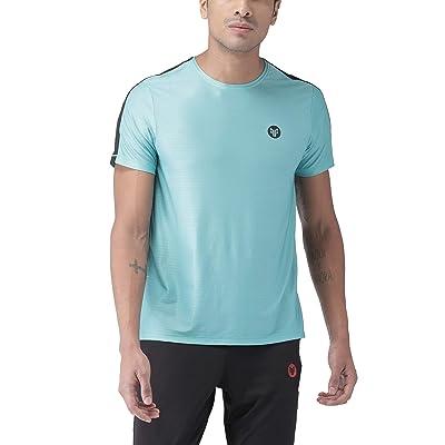 2Go Activewear Men's Printed Regular Fit T-Shirt at Men's Clothing store