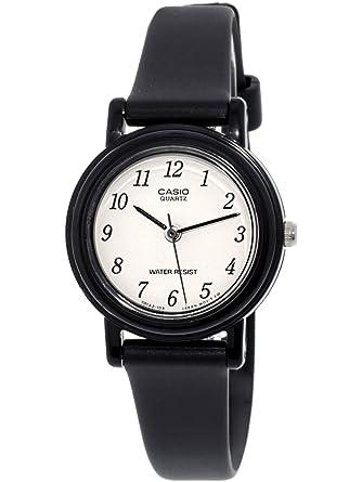 CASIO 19529 LQ-139BM-1B - Reloj de Señora cuarzo caucho: Casio: Amazon.es: Relojes