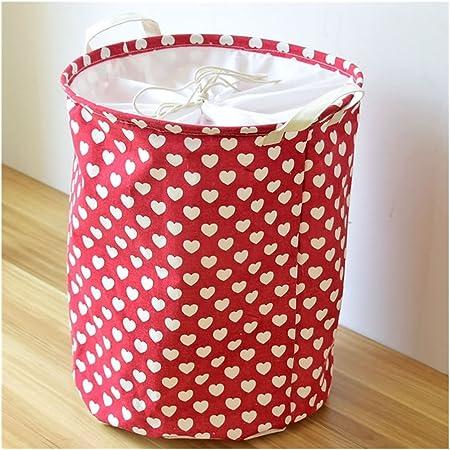 Tissu ronde pliante panier à linge jouets organisateur panier de stockage//vêtements