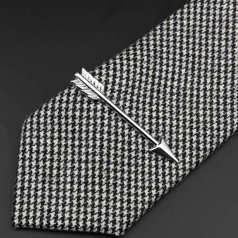 1 pi/èce Chrome Acier Inoxydable Verres Voiture Avion Fourchette cuill/ère Forme Argent Pince /à Cravate Hommes Cravate Broche Cadeau pour Hommes