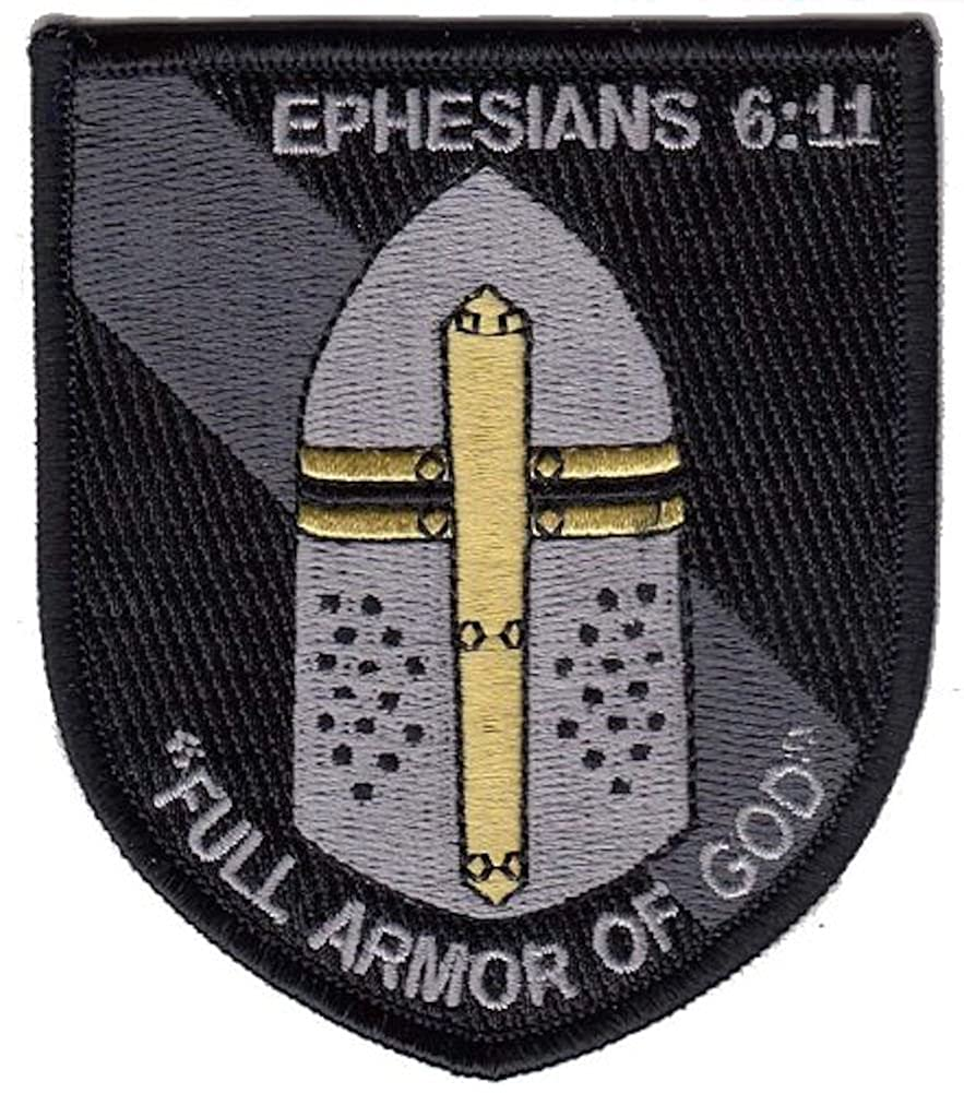 amazon com ephesians 6 11 full armor of god morale patch ocp