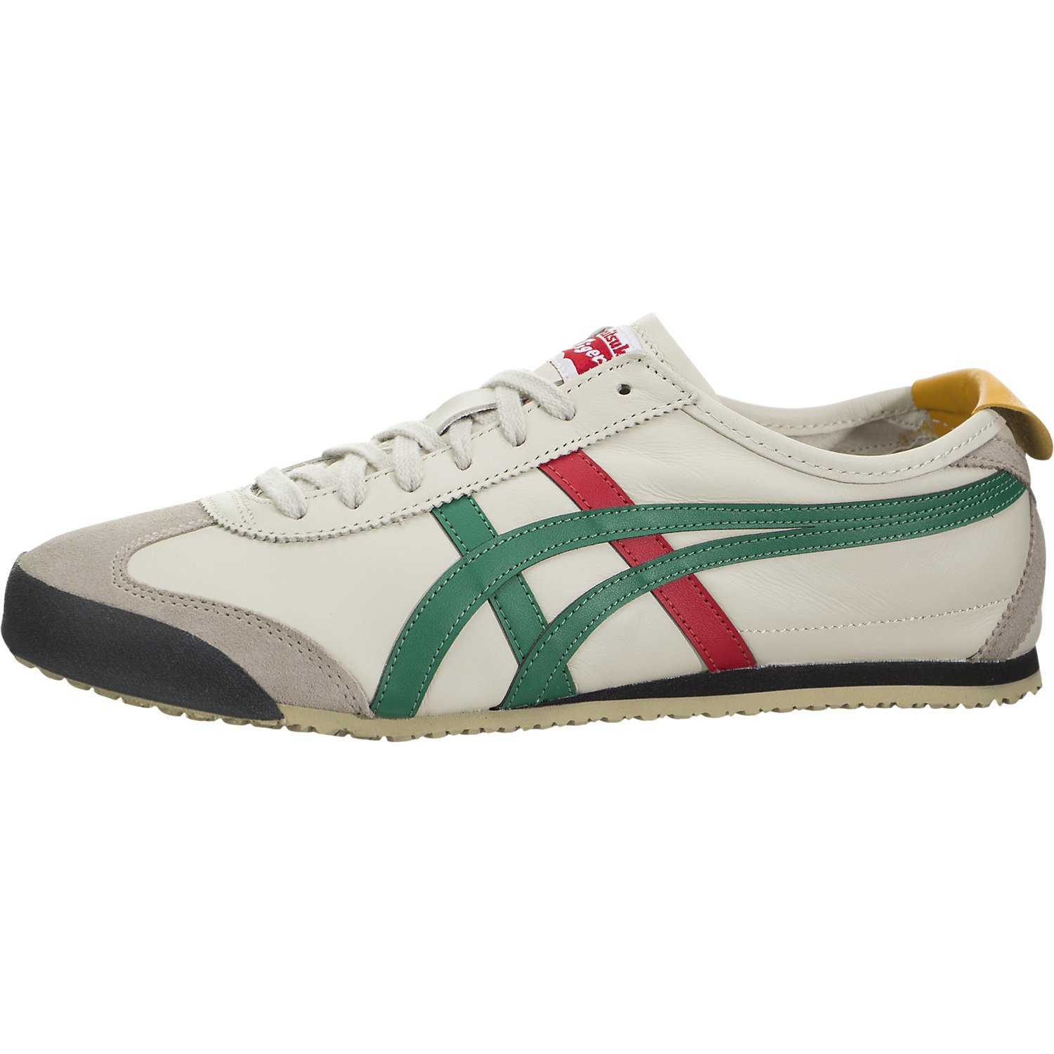 competitive price 24382 075bf Onitsuka Tiger Unisex Mexico 66 Shoes DL408, Birch/Green, 8 M US