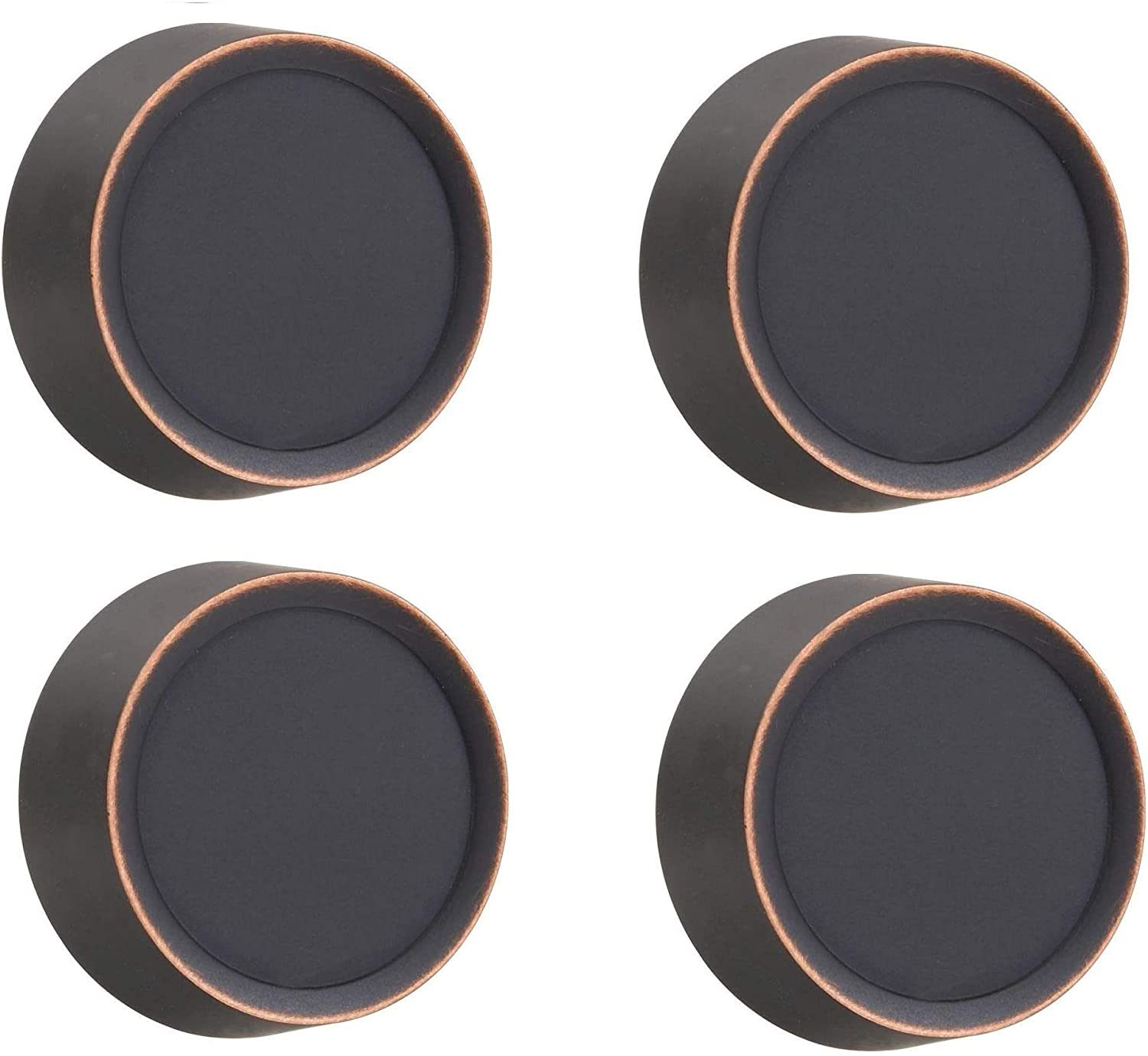 AMERELLE 947VB Dimmer Knob Wall Plate, Metallic|Aged Bronze, Sold as 4 Pack