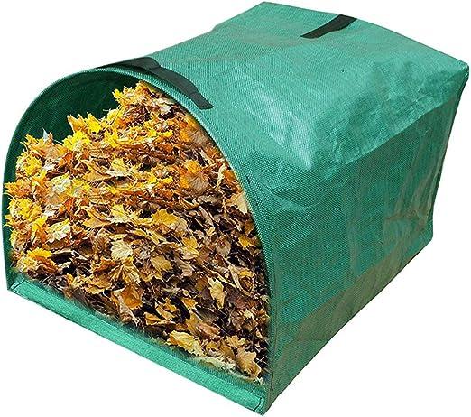 CviAn - Bolsas de Basura Reutilizables para jardín, 53 galones ...
