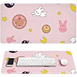 Lamgo Sailor Moon Rectangle Anime Non Slip Rubber Mousepad Mouse Pads/Mouse Mats Case Cover with Designs for Office Home Woma