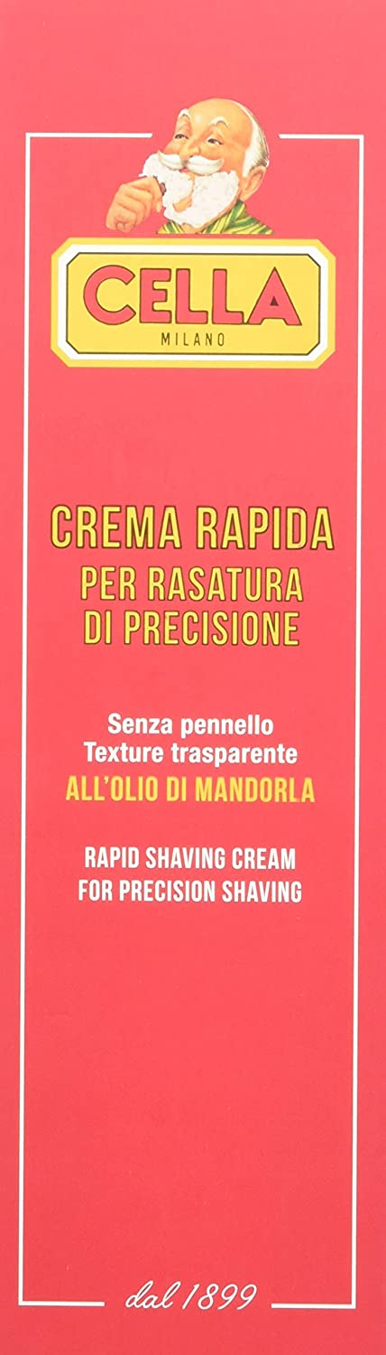 Cella Crema de Afeitado Rápido - 150 ml