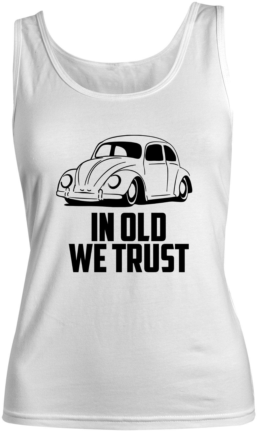 In Old We Trust Tank Top Sleeveless Shirt X 1800