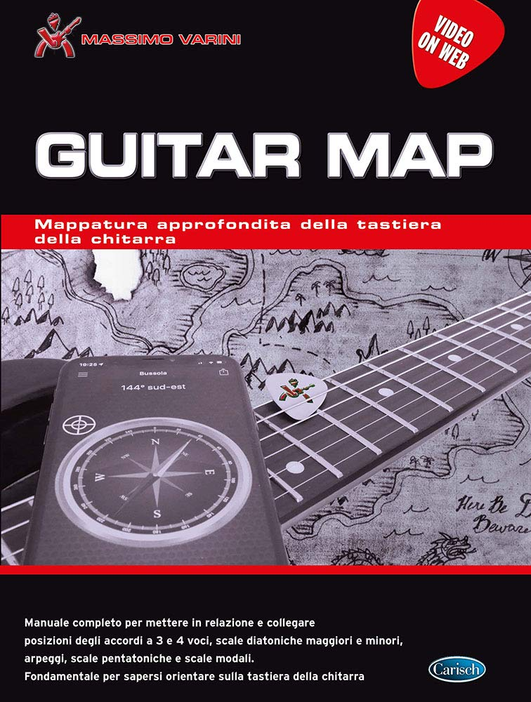 Guitar Map: Amazon.es: Massimo Varini: Libros en idiomas extranjeros