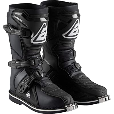 Answer 2020 Youth AR1 Boots (1) (Black): Automotive