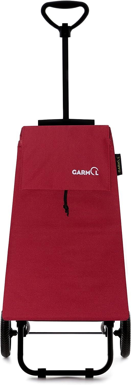 Tissu 38/x 29/x 102/cm GARMOL 201tl C5/Poussette de March/é 2/Roues Pliable Rouge