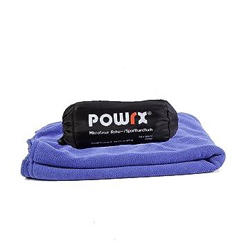 Microfibra toalla de POWRX - Toalla suave en diferentes tamaños, ideal para practicar deportes: Amazon.es: Deportes y aire libre
