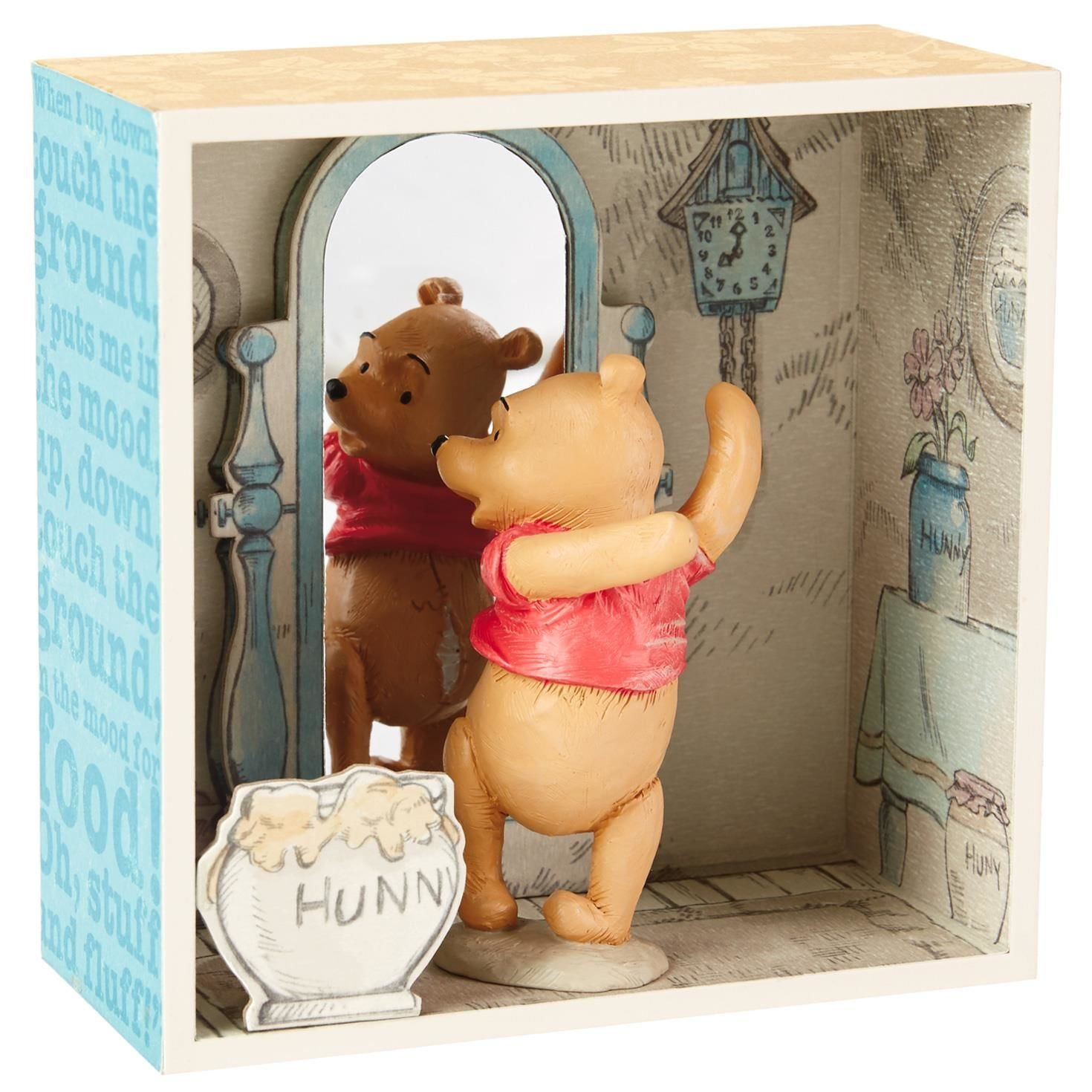 Hallmark Winnie the Pooh Exercise Time Shadow Box by Hallmark