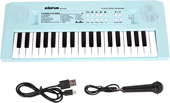 Shayson - Teclado de Piano para niños, 37 Teclas, Teclado de ...