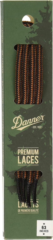 """Danner Laces 63"""" Shoelaces, Black/Tan, Medium: Shoes"""