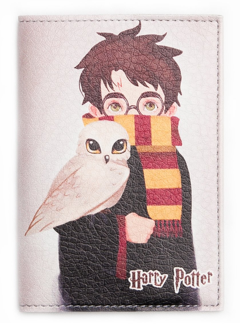 HMP Passport Cover For Man And Woman - Eco Leather Passport Holder - Passpot Wallet (Harry Potter)