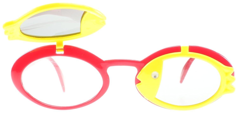 SXUC Junior Red Fishy Oval Sunglasses Size Junior