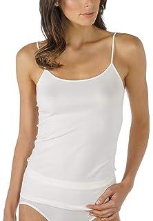 marine weiß,schwarz haut Mey Damen Unterhemd Emotion Art.55200 Spaghetti-Top