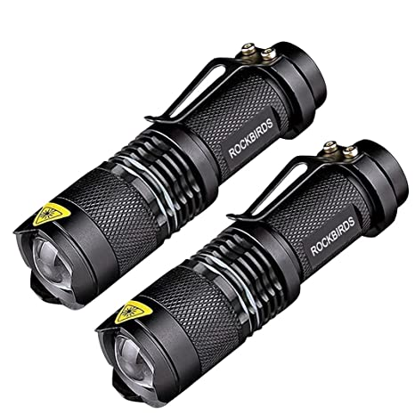 Review ROCKBIRDS LED Flashlights (2