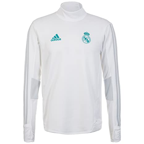 adidas TRG Sudadera Real Madrid, Hombre, Blanco (gricla), 2XL ...
