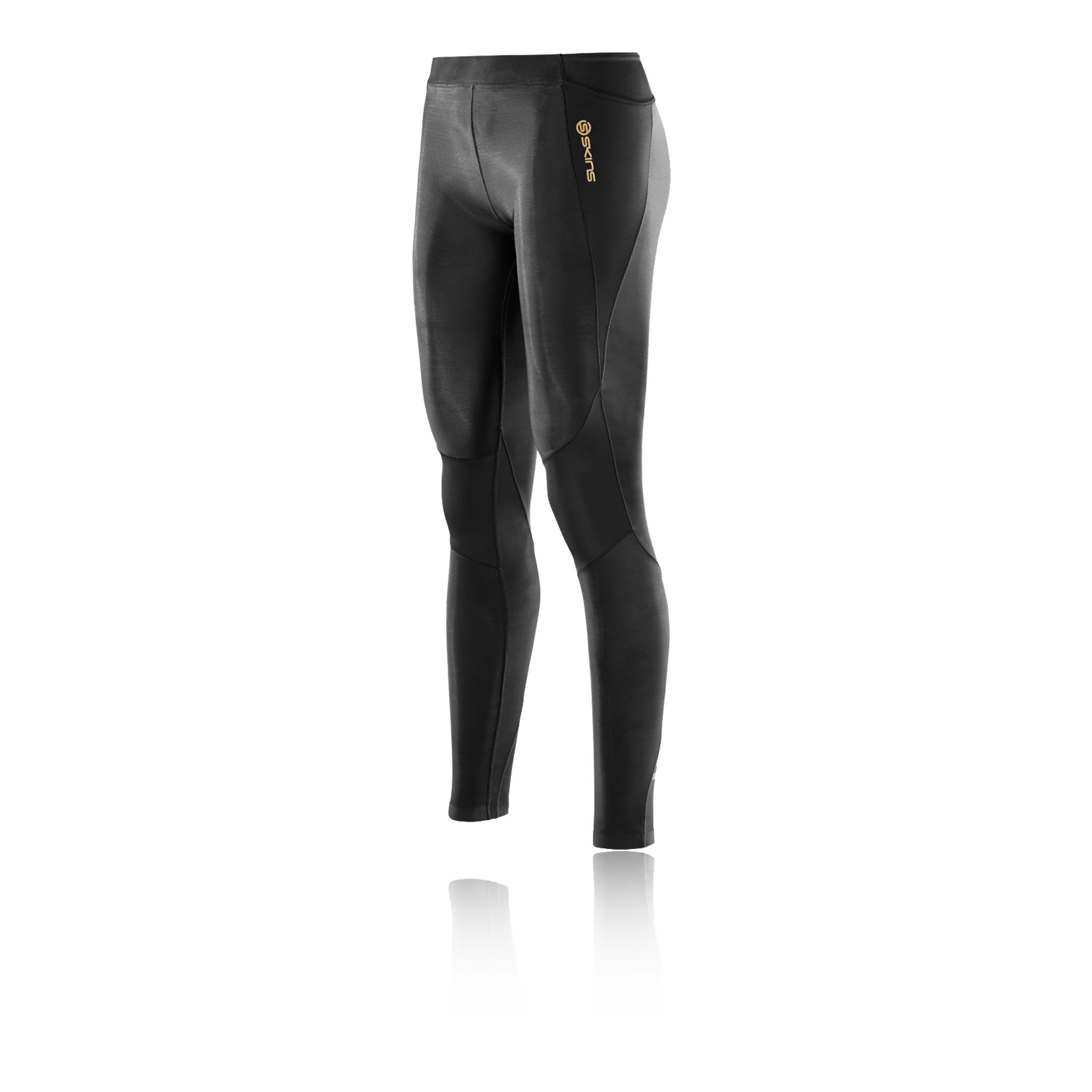 Skins Women's A400 Compression Long Tights, Black, Large
