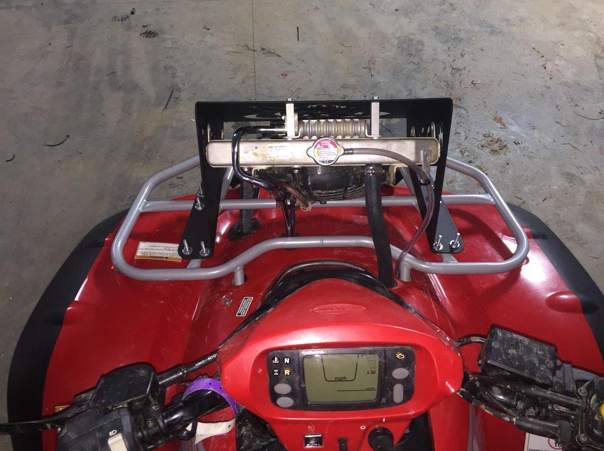 Honda Rincon 650/680 Radiador Reubicación Kit (11-up ...