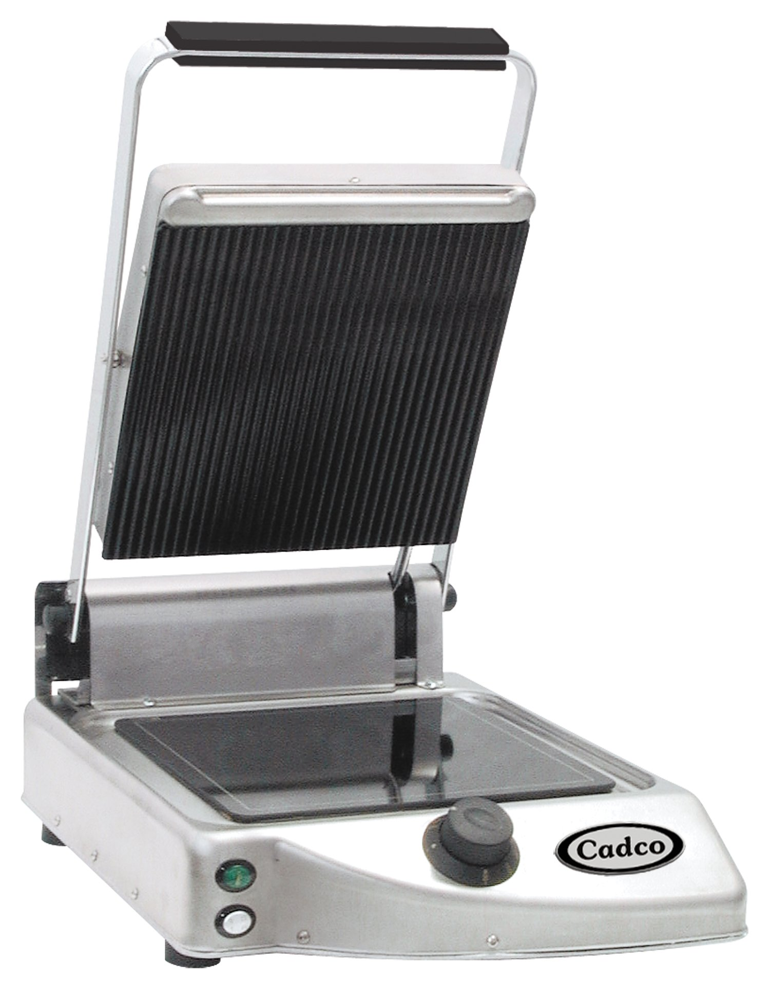 Cadco Single Panini/Clamshell 120-Volt Grill