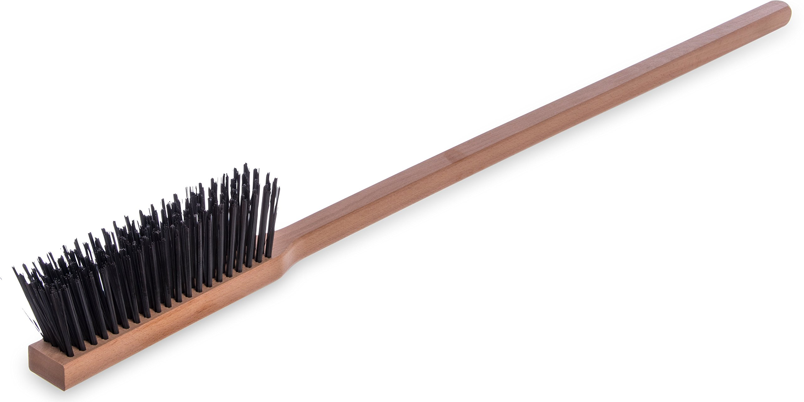 Carlisle 4577200 Carbon Steel Bristle Pizza/BBQ Oven Brush, 39'' Overall Length
