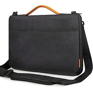 Inateck Bolso Bandolera para Ordenador Portátil de 14 Pulgadas, Laptop Sleeve Resistente a los Derrames