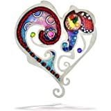 Seeka Swirling Heart Love Pin from The Artazia Collection P0706