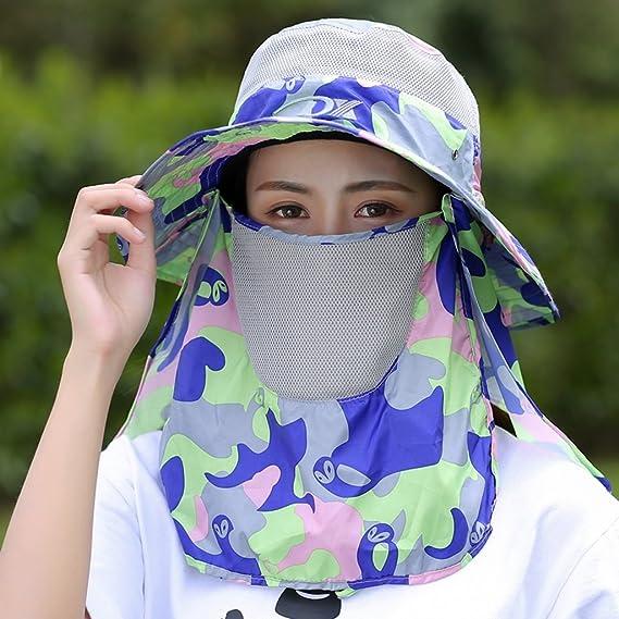 Sombreros de pesca Sombrero de protección Solar Verano ...